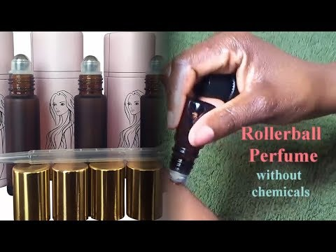 How to make your own Rollerball Essential Oil Perfume