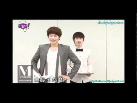 [ENGSUB] 110616 Yahoo! Music: Kyu-Hyuk teaching how to sing