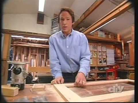 david shows how to make a  Display Cabinet