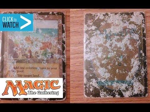 Selling & Buying Damaged Magic the Gathering Cards