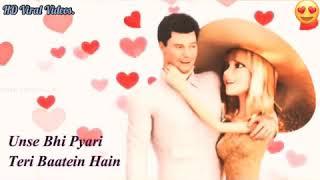 Jitni Haseen ye Mulakatein Hain   Love whatsapp staus video song