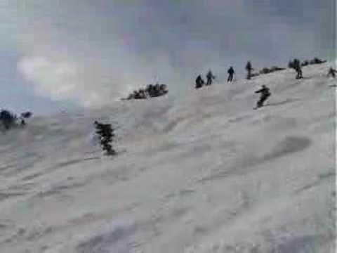 Ski Mr Bond !