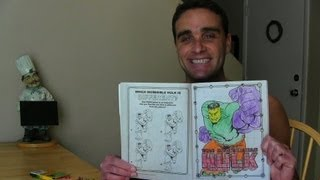 Download Coloring The Hulk in my Coloring Book! || Konas Comedy Sketches || Konas2002 Video