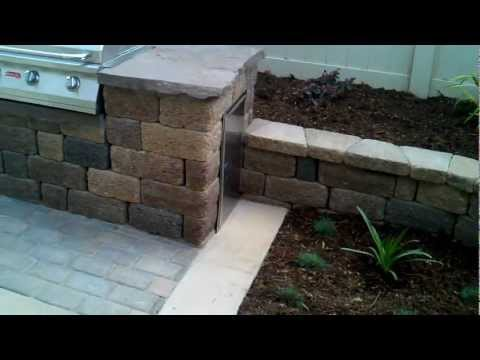 Oxnard Landscape Design, Pavers, Patio, Concrete, Retaining Wall, BBQ Area