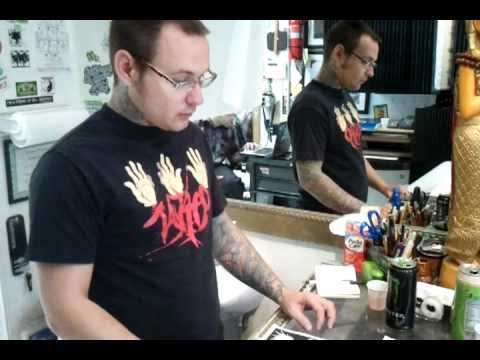 How to Tattoo: Designing The Stencil Pt. 1