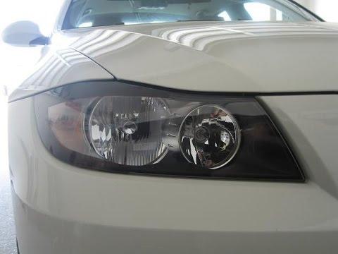 Headlight Bulb Replacement BMW E90