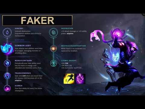 SKT Faker Build Malzahar - New Runes Season 8 solo vs Azir (League of Legends Guide)