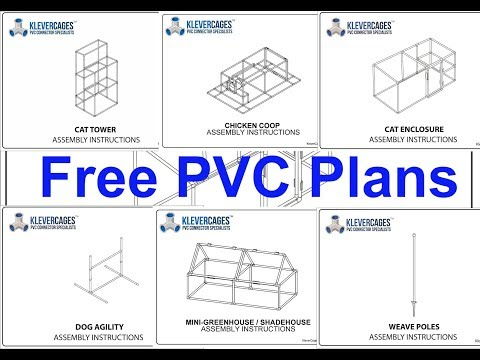 Free PVC plans from Klever Cages