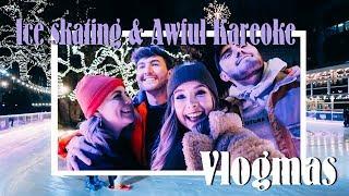 Ice Skating, Christmas Huts & Terrible Karaoke   VLOGMAS
