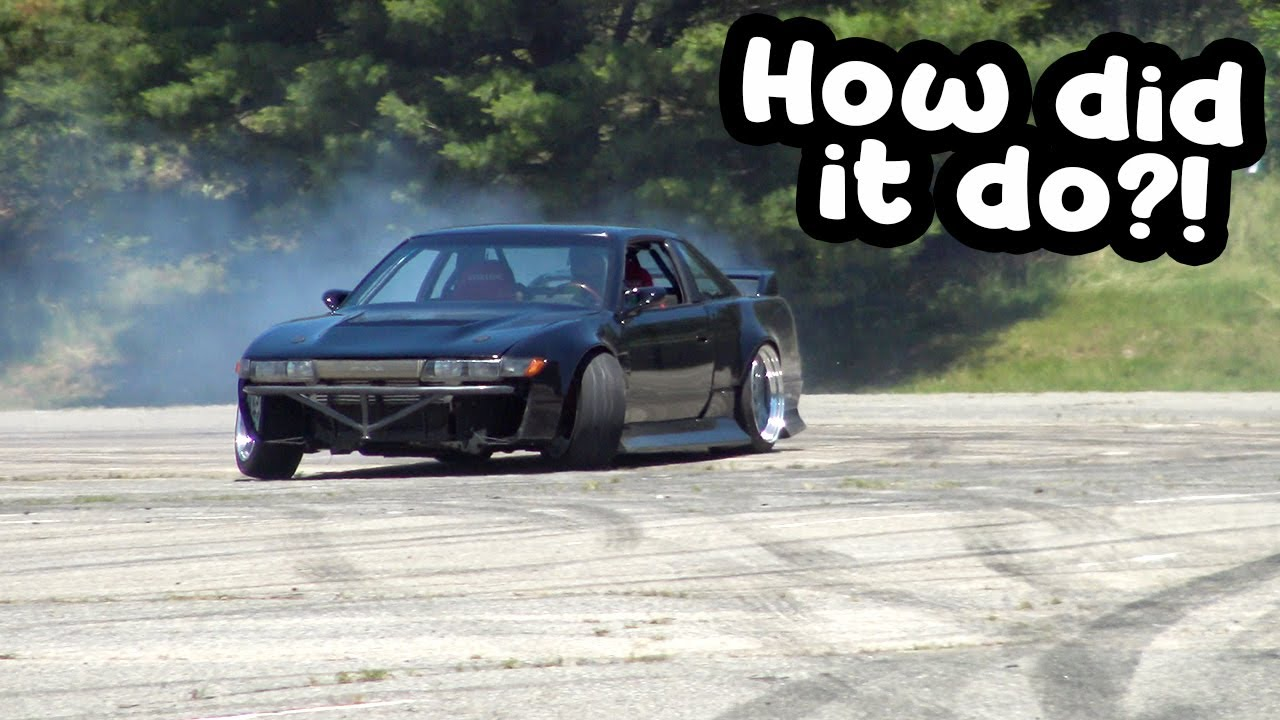 After 2 years the 1JZ Coupe Drifts again!