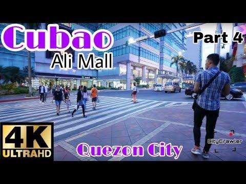 【4K】WOW! Cubao (Around Ali Mall), Quezon City Part 4