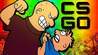 SIDEARMS IS A BULLY! - CS:GO Funny Moments with The Crew!