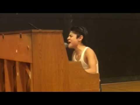 Xxx Mp4 Kid Performs Bohemian Rhapsody In Front Of Whole School 3gp Sex
