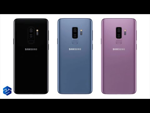 Unboxing And Setting Up An Samsung Galaxy S9