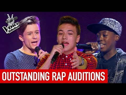 The Voice Kids | OUTSTANDING 'RAP' Blind Auditions [PART 1]