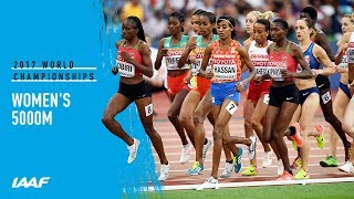 Women's 5000m Final | IAAF World Championships London 2017