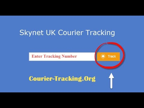 Skynet UK Courier Tracking Guide