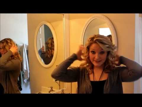 How To Create Loose Hollywood Curls.wmv