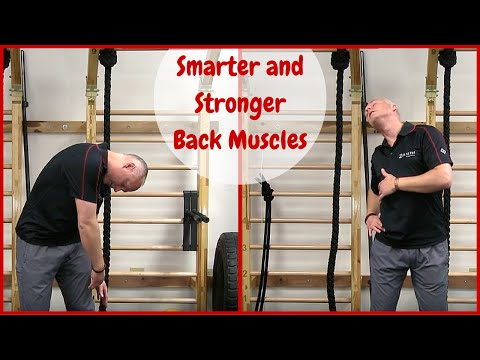 Back Pain Relief: Smarter and Stronger Back Muscles