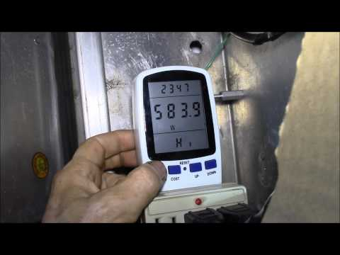 Ensupra Electricity Usage Monitor, KWH Hack