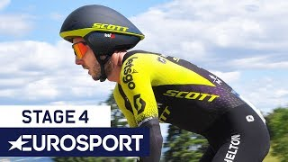 Critérium Du Dauphiné 2019 | Stage 4 Highlights | Cycling | Eurosport