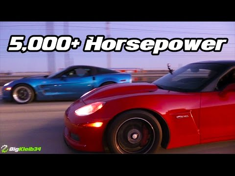 The 1000 HP Club - BIG POWER Street Racing INSANITY