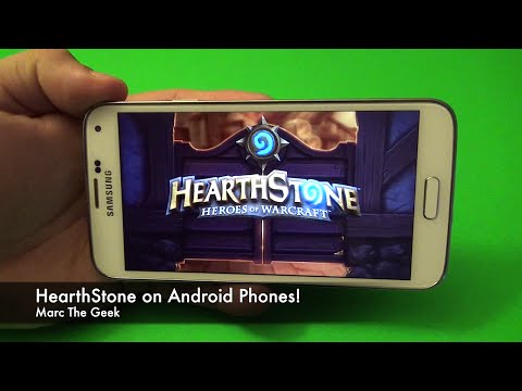 Hearthstone For Android Phones! (Read Update)