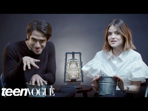 Lucy Hale and Tyler Posey Play Truth or Scare | Teen Vogue