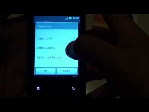 LG Optimus L3 E400: How to Change Phone Ringtone