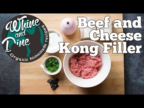 Beef and Cheese Mix | Dog Kong Filler
