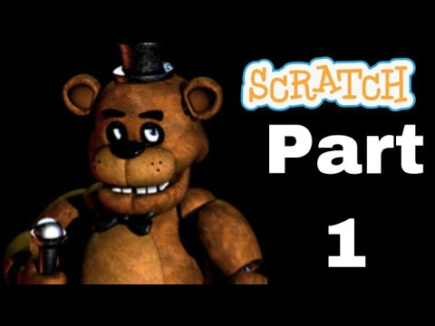 How to make a FNAF game in Scratch Part 1: Title Screen