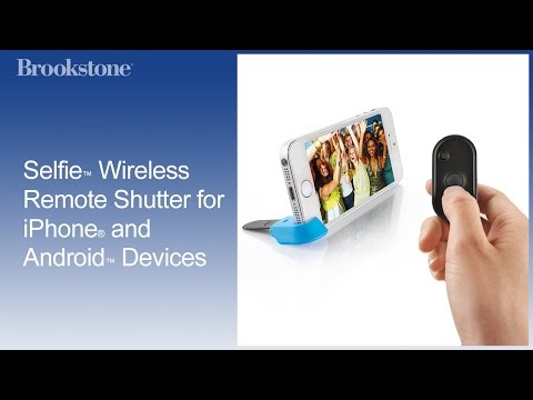 Selfie™ Wireless Remote Shutter for iPhone® and Android™ Devices
