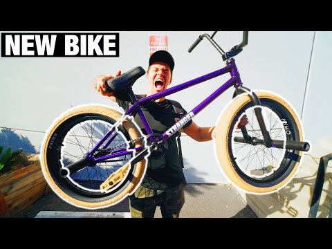 PICKING UP MY NEW BMX BIKE!
