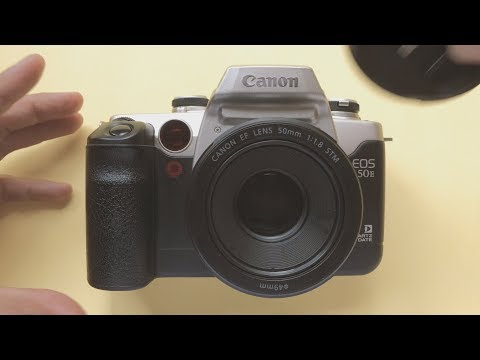 Canon eos 50e/IIe 35mm SLR Film Review with kodak Gold 200