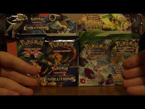 Pokemon XY Evolutions : Booster Box Opening Part 2 - Amazing Pulls