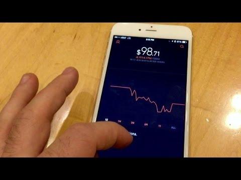 Robinhood Zero-Commission Stock Trading App
