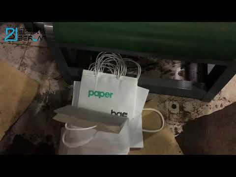 Automatic Single Sheet Paper Bag Printing Machine Adopt Mechanical Hand Feeding