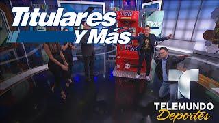 """¡Conoce al campeón de la """"Patada """"de TYM!   Titulares y Más   Telemundo Deportes"""