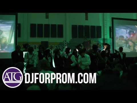 Charlotte DJ Jack Sumner at Northwestern's High School Prom