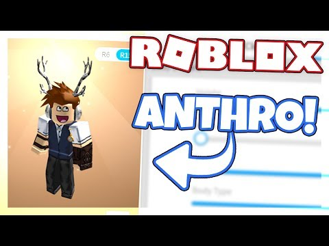 HOW TO USE THE *NEW* ANTHRO BODY TYPE ON ROBLOX