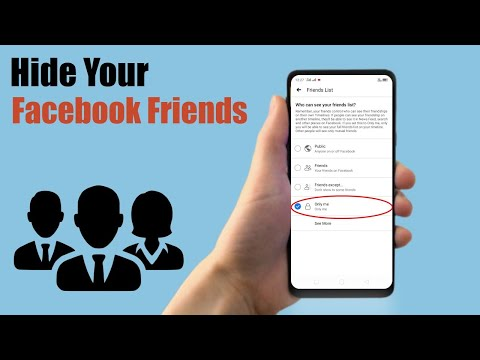 How to Hide Your Facebook Friends List on Mobile 2018