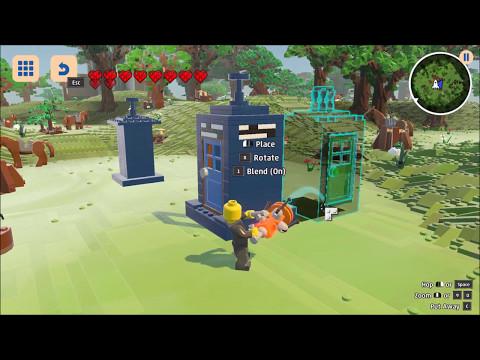 LegoWorlds: Making a tardis