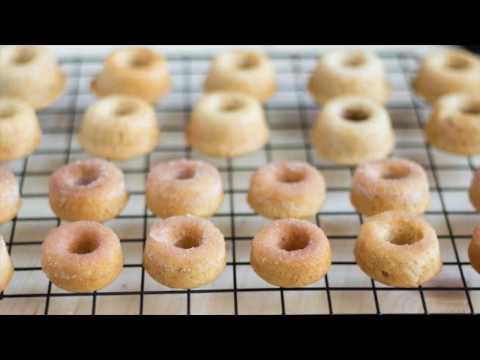 Baked Eggless Mini Donuts