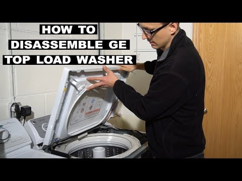 How to Take Apart a GE Topload Washer