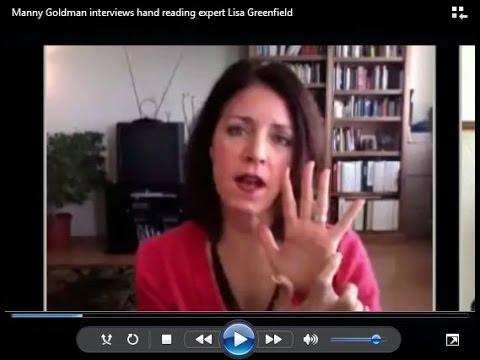 Manny Goldman interviews hand reading expert Lisa Greenfield
