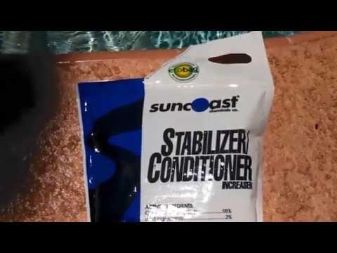 Swimming Pool Stabilizer/Conditioner/CYA/Cyanuric Acid