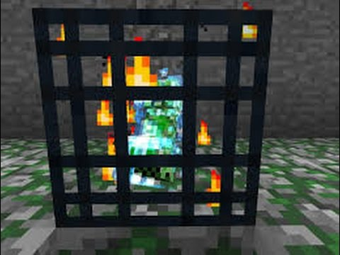Minecraft | How to make a CHARGED CREEPER SPAWNER!!!