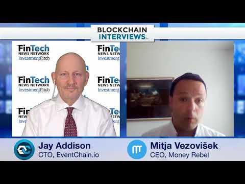 Blockchain Interviews - MoneyRebel CEO Mitja Vezovisek
