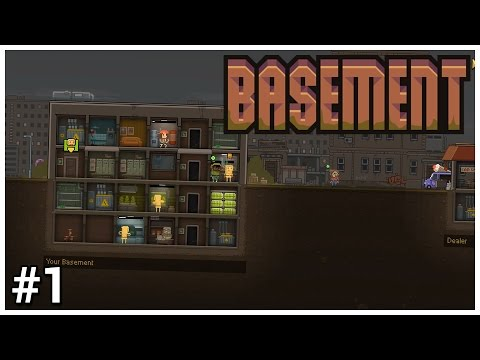 Basement [Early Access] - #1 - Bad Trip - Let's Play / Gameplay / Construction