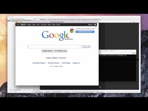 Web Browser — Build Your Own PyQt App — Web Browser